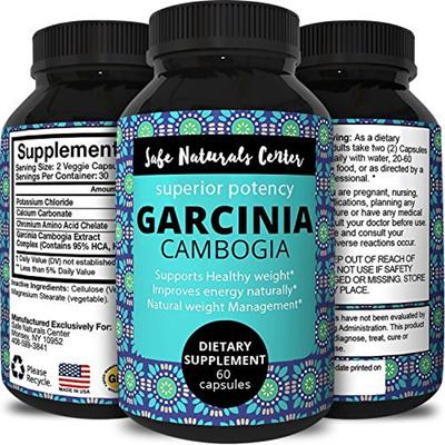 Qoo10 Pure Garcinia Cambogia Extract Natural Weight Loss Pills