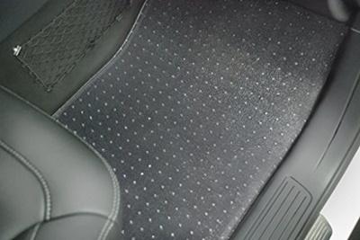 Puremats Hyundai Sonata Floor Mats Set   All Weather Heavy Duty   Crystal  Clear   (