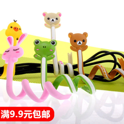 Qoo10 - Q cute cartoon strips and wires winding cables cable hub ...