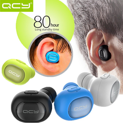 f19492810de414 QCY Q26 Smaller Headphone Mini Bluetooth Headset 4.1 Earphone Wireless  Music Handsfree Car Driver Headset Phone