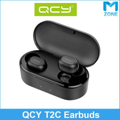 [QCY]QCY T2C / Bluetooth 5 0 TWS Headphones Sweatproof Nose Cancellation  mini Wireless / Local Warranty