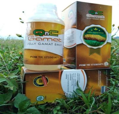 QnC Jelly Gamat Original Gold 100% ORIGINAL | Gamat QnC (POM License) SJ0160