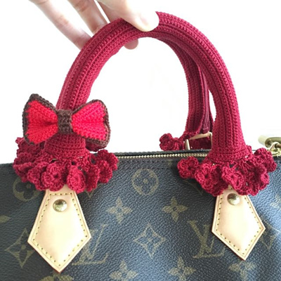 Qoo10 - Hand-Knitted Handle   Bag   Wallet 95299a04e7ac4