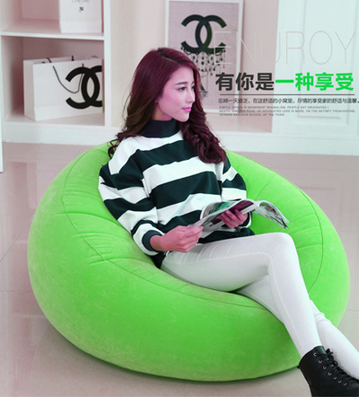 """Daily specials"""" lazy couch NAP inflatable single sofa bed-bedroom hostel lazy creative"""