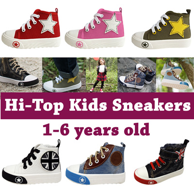 428b19838f33  SALE!  Raf Raf Hi Top Kids Shoes☆1-6 years☆