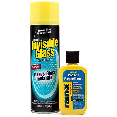 (Rain-X/Stoner) Invisible Glass And Rain-X Windshield Cleaner  Kit-GlassCleaner-Kit