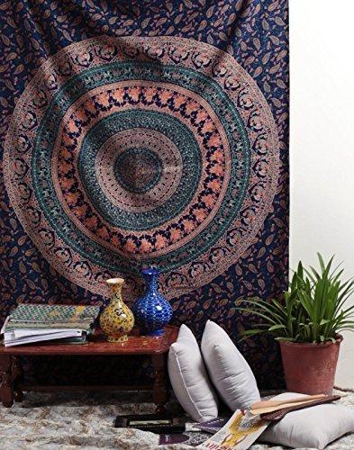 Mandala Market Gardens The Layout: RAJRANG Twin Hippie Tapestry Hippy Mandala