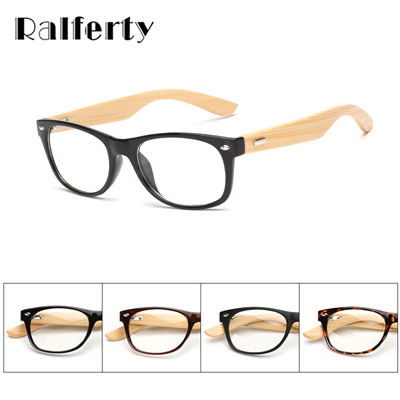 5b4e67eb64 Qoo10 - Ralferty Gold Wood Glasses Frames Oliver Peoples Bamboo Eyeglasses  Fra...   Fashion Accessor.