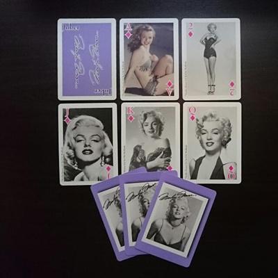 Kết quả hình ảnh cho MARILYN MONROE PLAYING CARDS