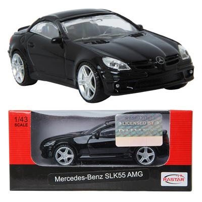 Rastar Mercedes Benz Slk55 Amg Black Toy Die Cast Toy Model Cars