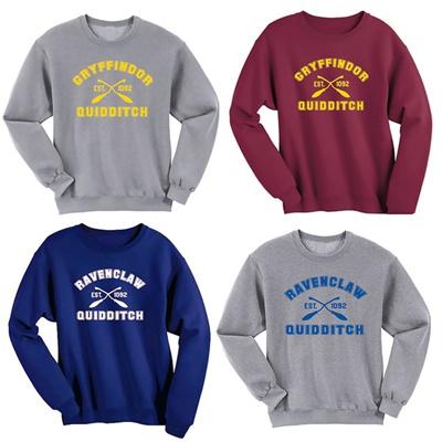 58b4cc49b Qoo10 - Ravenclaw Quidditch/Gryffindor Quidditch Harry Potter Shirt  Sweatshirt... : Women's Clothing