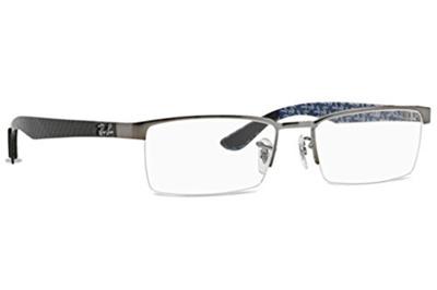 8f16fbed2b canada prescription ray ban rx8412 glasses a7d46 9d5c5  reduced ray ban ray  ban rx8412 carbon fibre eyeglasses 2502 gunmetal 52mm 9f03d 69bab