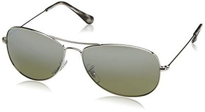 8e41255e62 Qoo10 - Ray-Ban Unisex RB3562 Chromance Lens Pilot Sunglasses ...