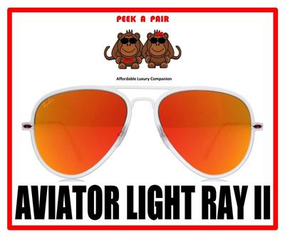 RB4211  Kacamata RB Aviator Light Ray II d997e51fbb