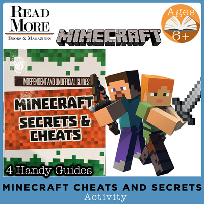[Read More] Minecraft Secrets / Cheats / Age 6+ / Activity / Gift Ideas /  Unofficial Guides /
