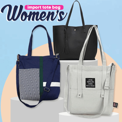 READY STOCK - Tote Bag Import Tas   Handbag Import   Shoulder Bag Wanita -  BEST 2b06fa3a7a