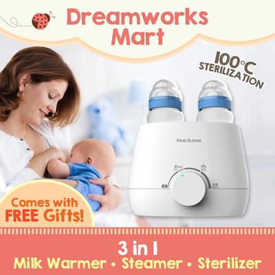 adb167e8755d4 Qoo10 - Real Bubee 3-in-1 Multi Purpose Milk Warmer . Steamer . Sterilizer