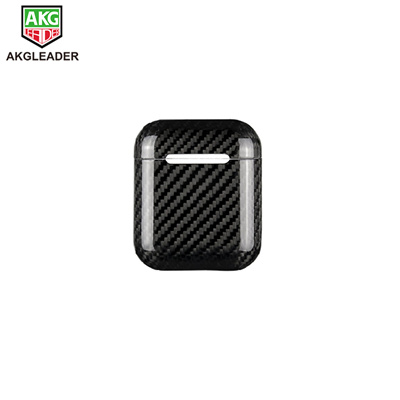 on sale 314a0 ed99e Real Carbon Fiber Ultra Thin Case for AirPods Dust Plug Fitted Cases Cover  Protector for AirPods