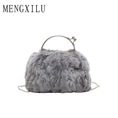Qoo10 - Real Fur Messenger Bags Handbags Women Famous Brands Luxury  Crossbody ...   Bag   Wallet 70e3e680da5e3