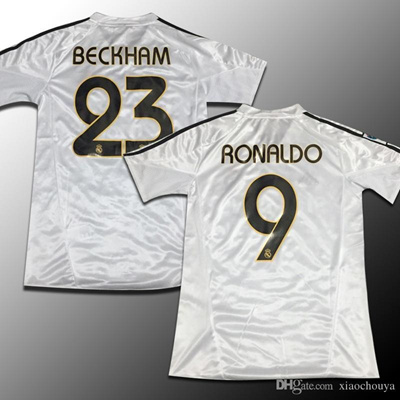 premium selection 36aef 335c1 Real Madrid jersey 2004-05 season restoring ancient ways David Beckham,  zinedine zidane, ronaldo, ra
