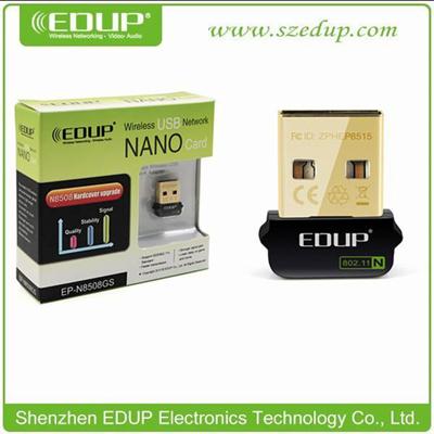 Reatek RTL8188cus Chipset 150Mbps 802 11n EDUP EP-N8508GS Raspberry PI Min  USB Wifi dongle Wifi Do
