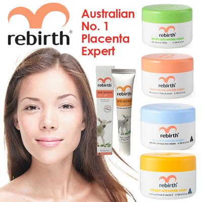 Rebirth (Australia)🔥🔥🔥WOW DEAL🔥🔥🔥REBIRTH AUSTRALIA SHEEP  PLACENTA/COLLAGEN/EMU/LANOLIN CREAM/EYE GEL