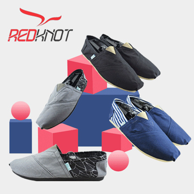 REDKNOT - New Collection - KOKETO URES - Canvas Shoes - Unisex Sneaker - Casual and