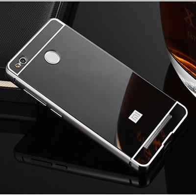 best sneakers 23299 6477b Redmi 4X Mirror Case Plating Aluminum Metal Bumper Acrylic PC Back Cover  Shell Xiaomi Redmi 4 X