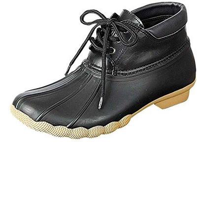 b62ea307115 (Refresh)/Women s/Boots/DIRECT FROM USA/Refresh Women s Hunter-05 Rubber  Rain Waterproof Skimmers Duck Boots