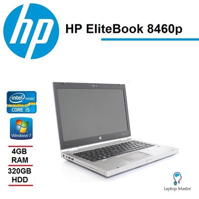 [HP][Refurbished] HP EliteBook 8460p / Intel Core i5 2nd Gen / 4GB / 320GB  HDD