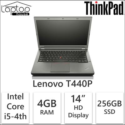 [Lenovo][Refurbished] Thinkpad T440P Core i5-4th Gen/256GB SSD/ 4GB RAM