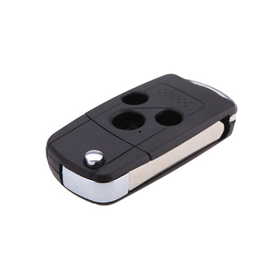 Replacement Shell Flip Folding Remote Car Key Case Key Cover for Honda  Accord Fit Flip 3 Buttons Uncut Blade