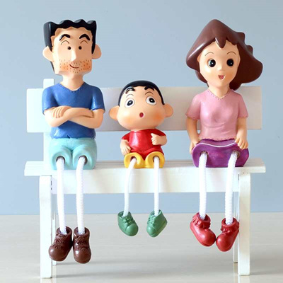 qoo10 resin doll crayon shinchan home decoration