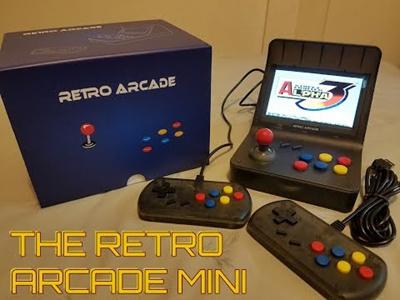 [SG Local Seller]Retro Mini Pocket Game E Arcade Neogeo 3000 In 1 Classic  Handheld Game Console