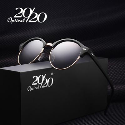 7c3d98b753 Qoo10 - Retro Rivet Polarized Sunglasses Men Classic Designer Unisex Sun  Glass...   Men s Bags   Sho.