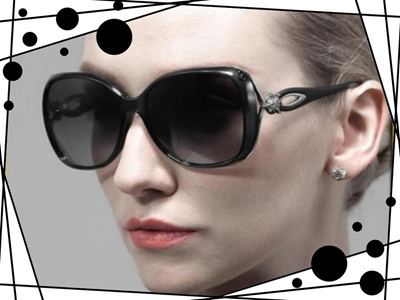 dbf43284e62 Qoo10 - Retro TR90 Vintage Driving Sun glasses Polarized Luxury Ladies  Designe...   Fashion Accessor.
