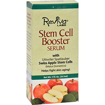Reviva - Reviva Stem Cell Booster Serum W/ Swiss Apple Stem, 1 fl oz serum Clinicians Complex - Peptide Eye Cream - 20ml/0.65oz