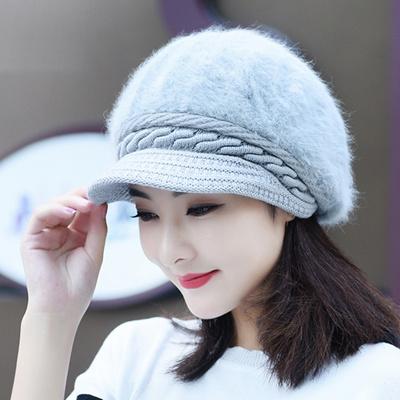 Rex topi beludru wanita musim dingin topi bulu versi Korea dari musim dingin  baru tebal hangat 444615c432
