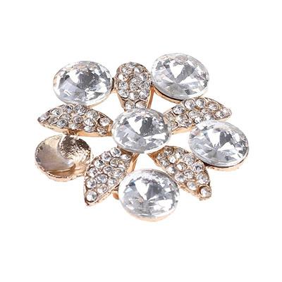 1PC Crystal Rhinestones Shoe Clips Women Bridal Prom Shoes Buckle Decor US