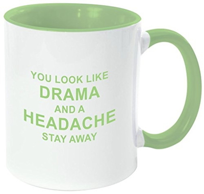Qoo10 Rikki Knight Drama And A Headache Away Funny Quotes Handle
