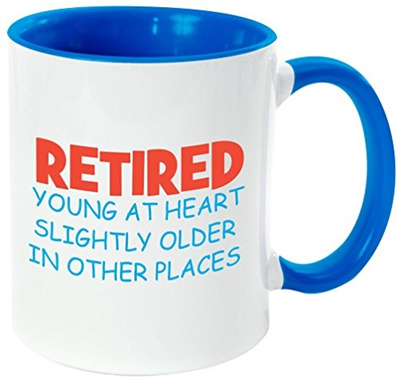Qoo10 Rikki Knight Retiredyoung At Heart Funny Quotes Handle And