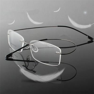 96ea1f32d1a43 Rimless Titanium Ultra light reading glasses +1.0 +1.5 +2.0 +2.5 +3.0