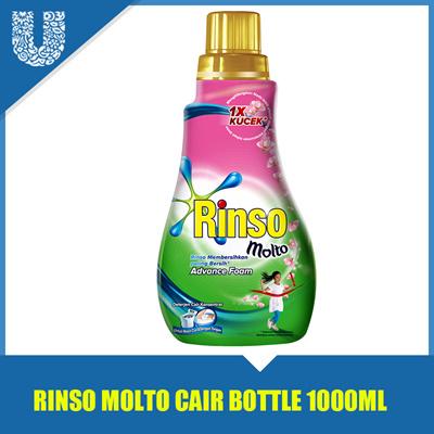 Rinso MOLTO LIQUID BOTTLE 1000ml / liquid detergent / UNIMART