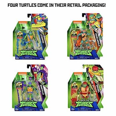 Rise of the Teenage Mutant Ninja Turtles Basic Figure