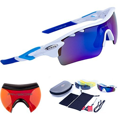ccb46833112 Qoo10 - (RIVBOS) RIVBOS 801 POLARIZED Sports Sunglasses with 5  Interchangeable...   Fashion Accessor.