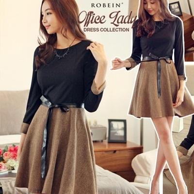 Qoo10 On Sale Korean Work Wear Premium Office Dress Uk Style Luxury Style R Women S Clothing