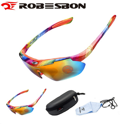 816ad85429 Qoo10 - ROBESBON 2017 sport cycling glasses goggles mtb bike bicycle  sunglasse...   Sports Equipment