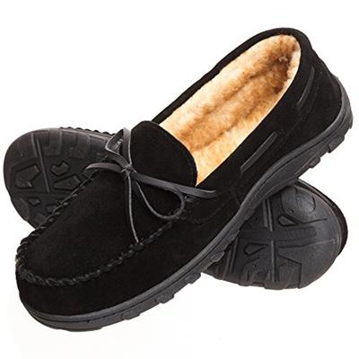d59d2939fe3 Qoo10 - Rockport Mens Memory Foam Plush Suede Slip On Indoor Outdoor  Moccasin ...   Shoes