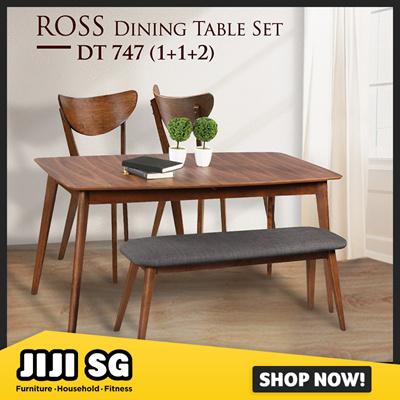 Fine Qoo10 Dining Table Set Furniture Deco Creativecarmelina Interior Chair Design Creativecarmelinacom