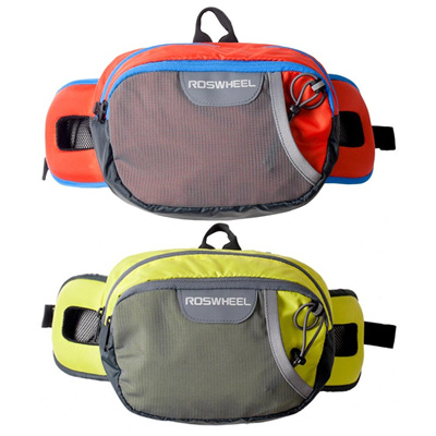 4628cba58be5 ROSWHEE Men Women Outdoor Sports Running Waist bag Cycling Pack Bum Bag Hip  Money Anti-theft Belt